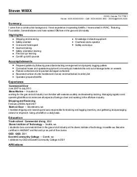 ups package handler resume review ups package handler resume steven - Package Handler Resume