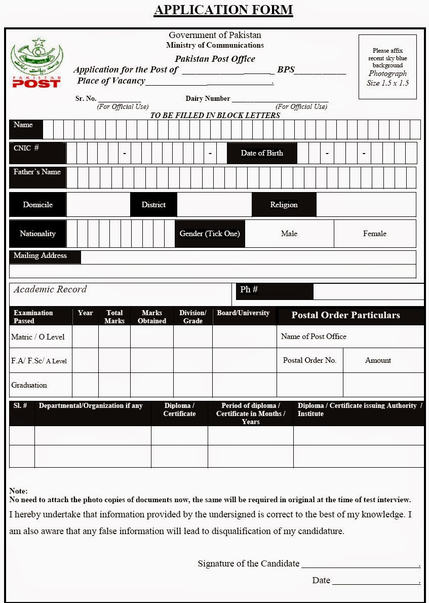 Application Form For Post Office Job Direct Filing Addresses For Form I 765 Application For Download