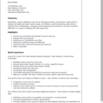 resume-templates-home-care-coordinator-summary-highlights