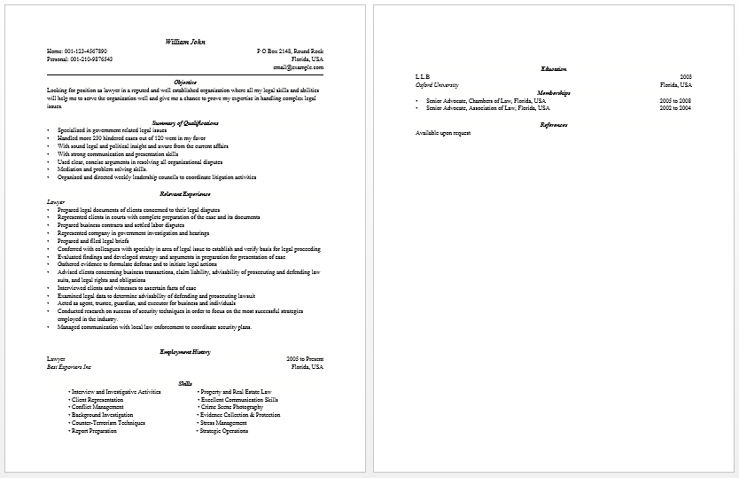 samplebusinessresume com page 11 of 37 business resume