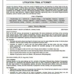 resume legal Trial Attorney Resume Example