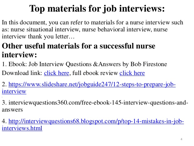 40 cardiac nurse interview questions with answers - Nursing Interview Questions And Answers
