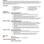 best personal financial advisor resume example livecareer pertaining to finance adviser job description