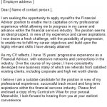 Cv Service Advisor Job Resignation Letter To Employer with regard to Job Description For A Financial Advisor