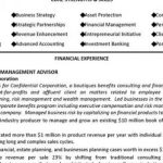 financial advisor resume objective sample