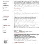 hair stylist resume sample professional summary