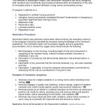 medical caregiver sample resume