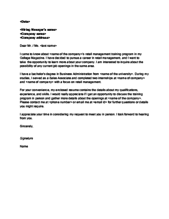 How to write a letter of interest for a job for Sample cover letter of interest for employment