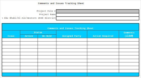 issue tracking spreadsheet template excel. Black Bedroom Furniture Sets. Home Design Ideas
