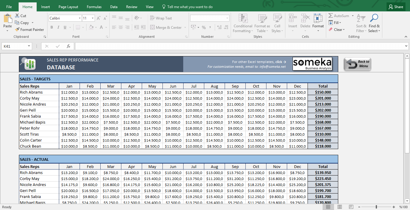Sales customer tracking spreadsheet excel
