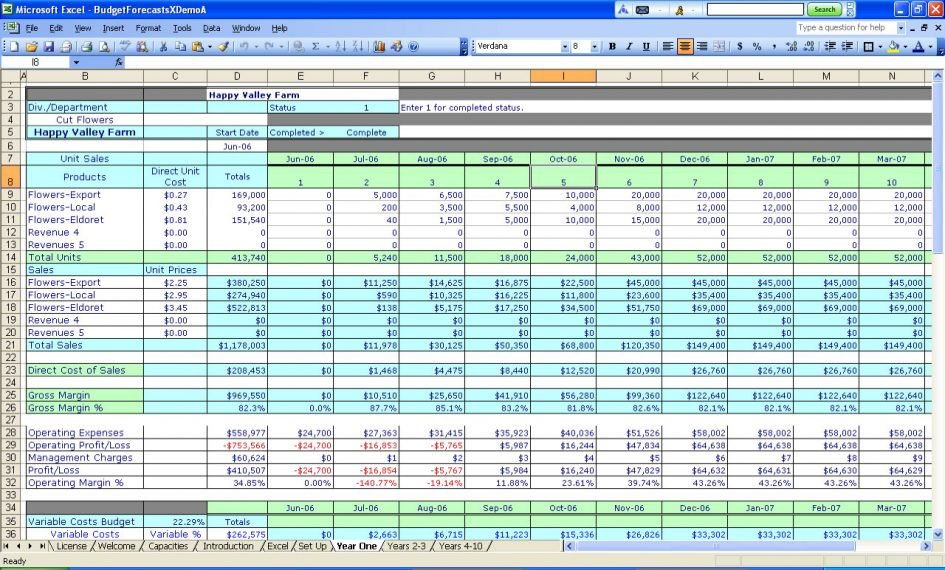 free excel templates for small business - Free Excel Spreadsheet Templates