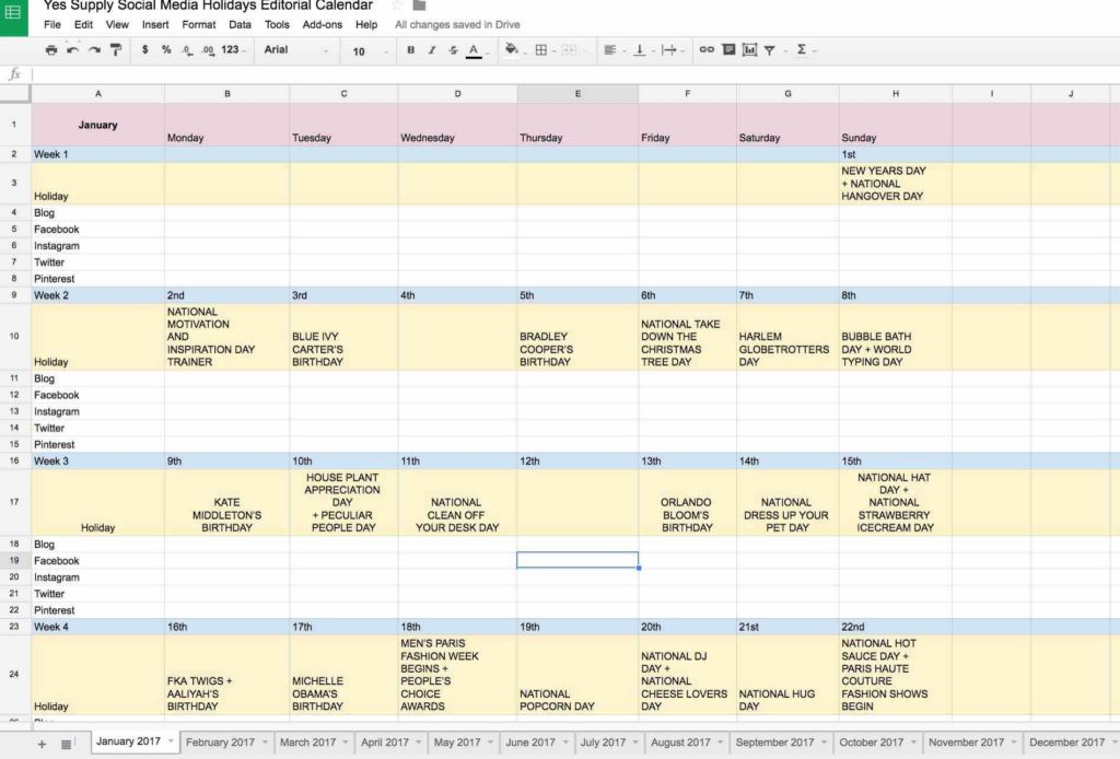 Bill Calendar Template Printable And Calendar Spreadsheet Monthly