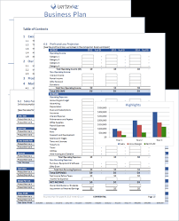business plan template excel download