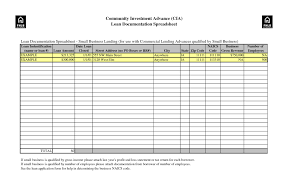 business spreadsheets download