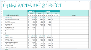 complete wedding budget checklist download