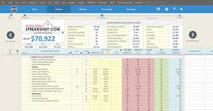 cost estimating spreadsheet template download