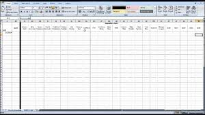 ebay sales excel spreasheet download