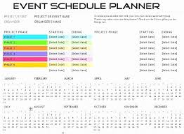 event planning checklist spreadsheet download