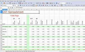 example of spreadsheet for expenses download