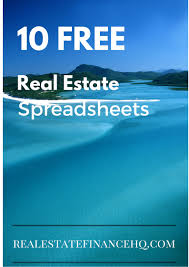 excel for real estate analysis download