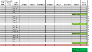 excel spreadsheet training tracker download
