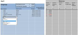 excel taxi driver accounts template download