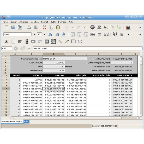 features of spreadsheet templates