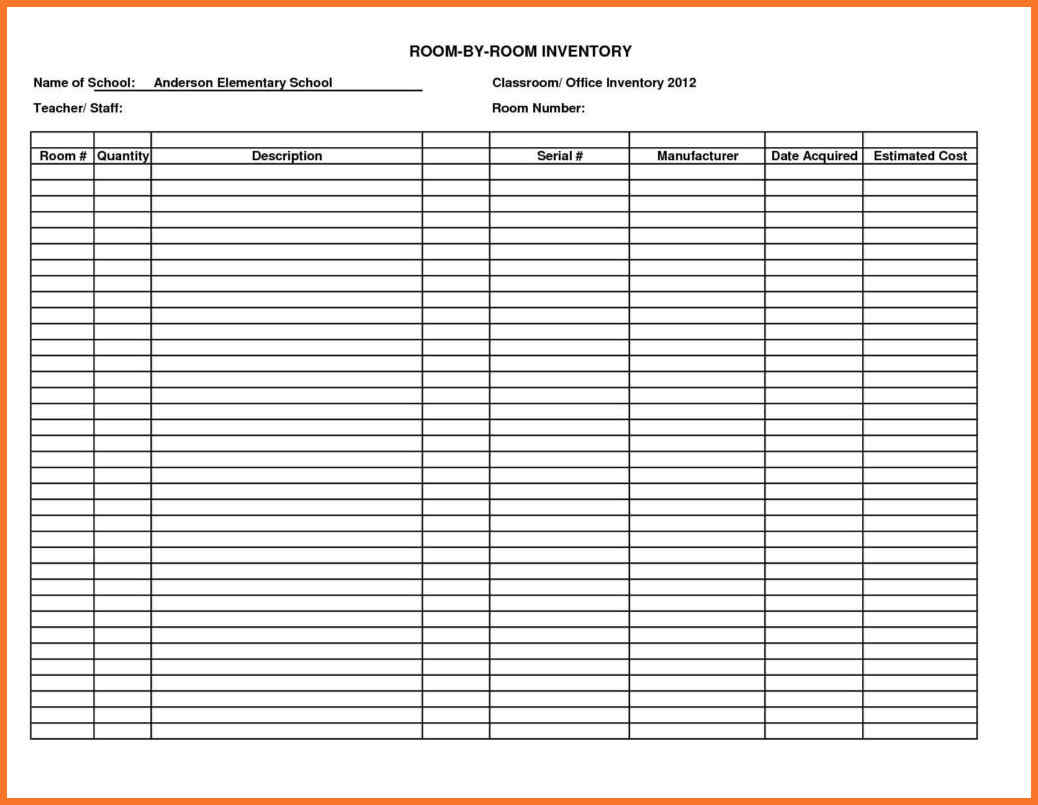 free blank daily expenses sheet in excel format free download