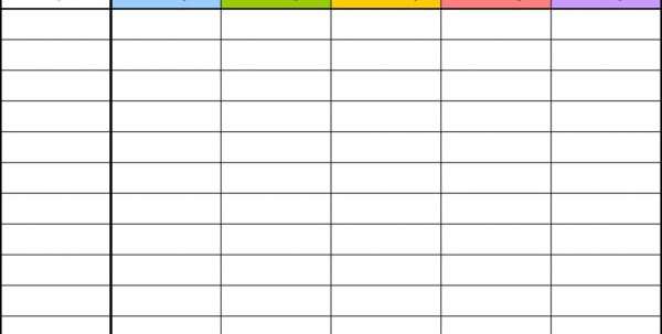 free blank excel budget templates spreadsheet