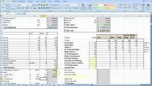 free construction cost estimate excel template download
