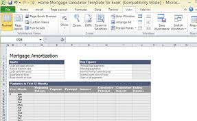 free excel mortgage calculator download