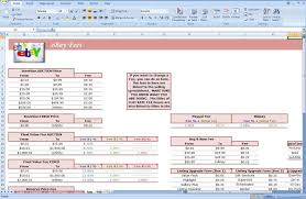 free excel spreadsheet for ebay sales download