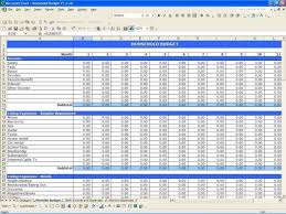 free income and expense spreadsheet download
