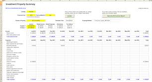 free investment property calculator excel spreadsheet download