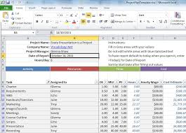 free project management spreadsheet download