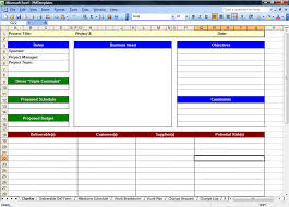 free project management templates excel 2007 download