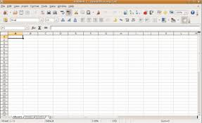 free spreadsheet program download
