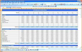 household budget template excel download