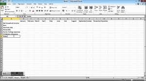how to create a business budget in excel download
