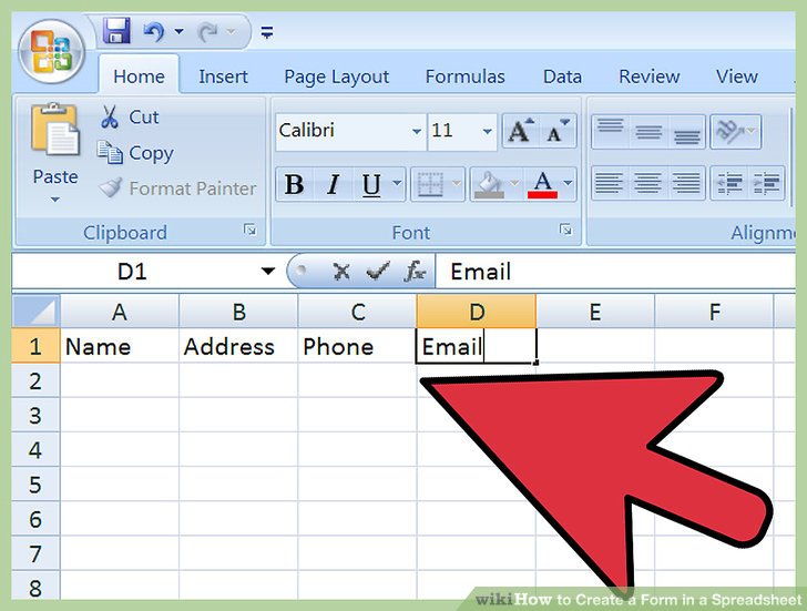 how to create a spreadsheet in excel 2007 Spreadsheet