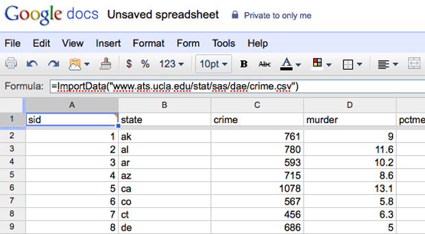 How To Create Spreadsheet In Google Docs Import