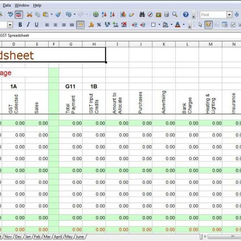 how to keep accounts in excel free simple bookkeeping spreadsheet fern template excel download