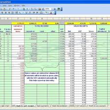 how to maintain accounts in excel sheet format new