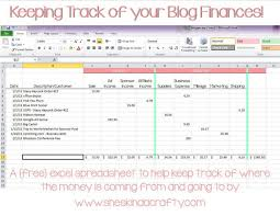 income and expense tracker excel download