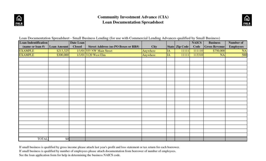 income itemized deductions spreadsheet