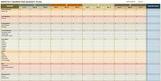 marketing spreadsheet templates download