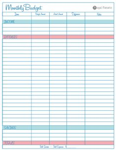 monthly budget template google worksheets