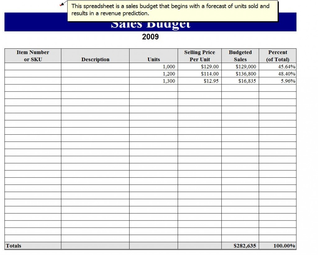 monthly sales pipeline template excel free download