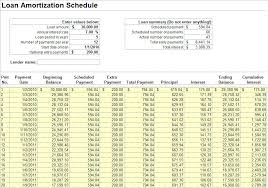 loan amortization schedule free download