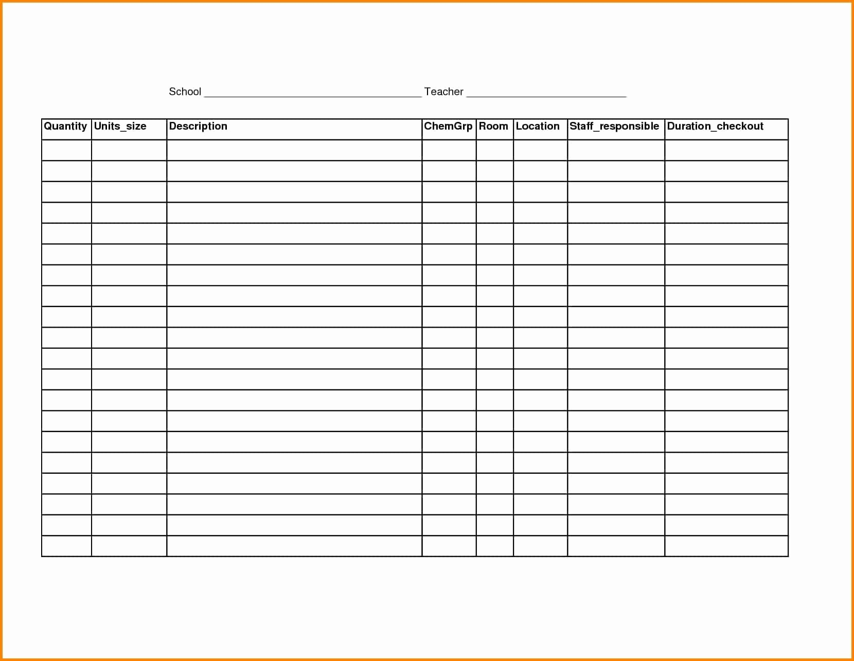 T Shirt Organizer Free Printable Spreadsheet Samplebusinessresume Com